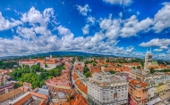 Zagreb 360° - Zagreb Eye observation deck - Zagreb