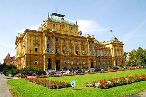 Croatian national theatre Zagreb - Zagreb