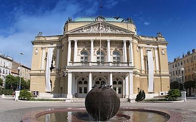 Croatian national theatre Ivan Zajc